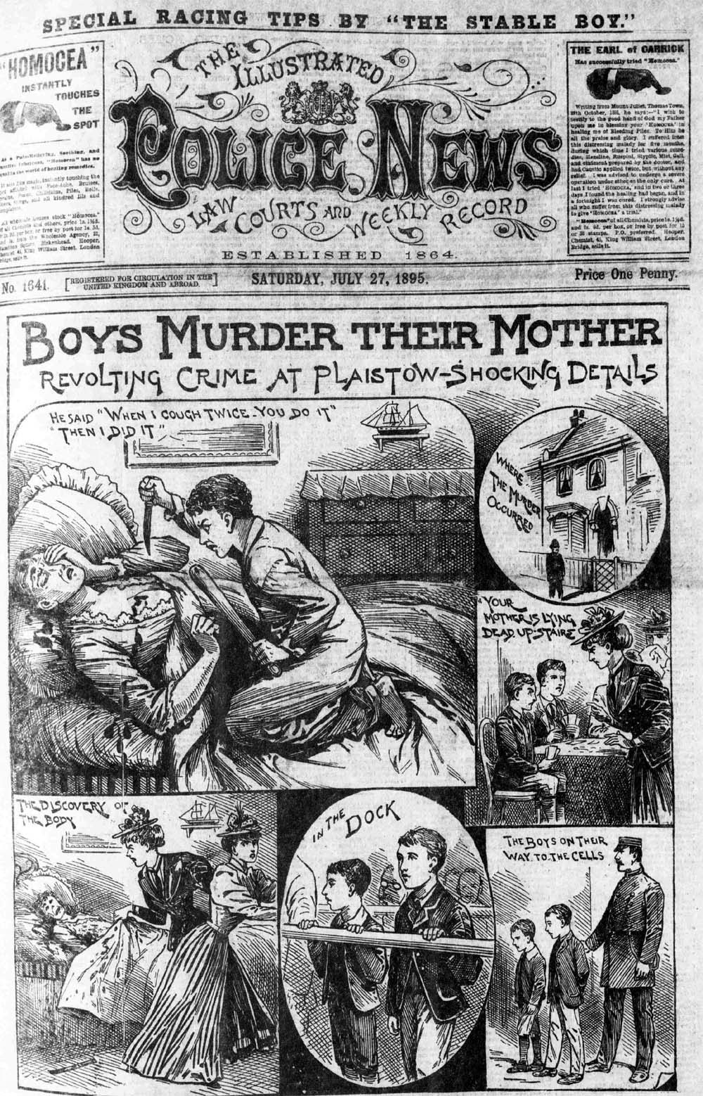 Illustrated Police News - Saturday 27 July 1895