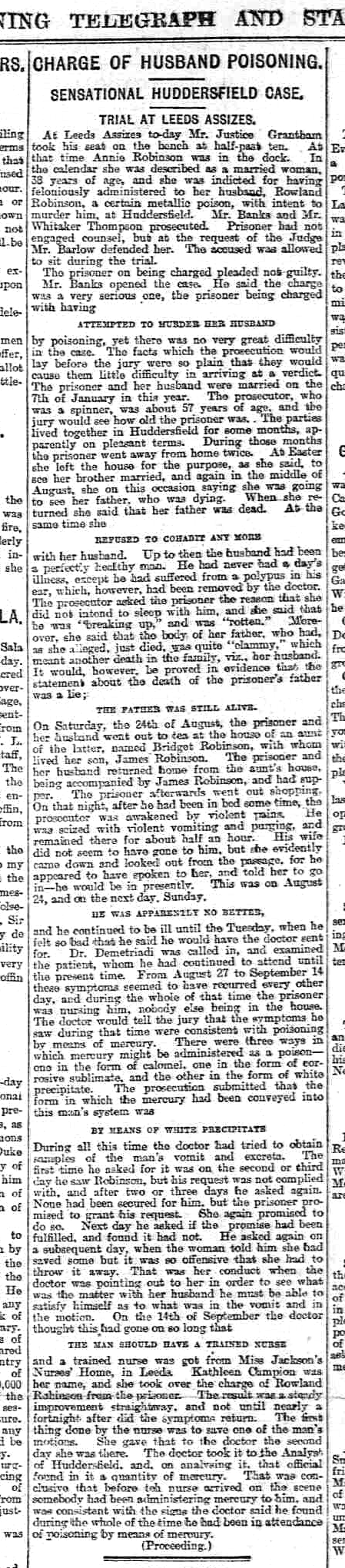 Sheffield Evening Telegraph - Thursday 12 December 1895