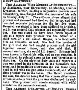 Cheshire Observer - Saturday 20 August 1887